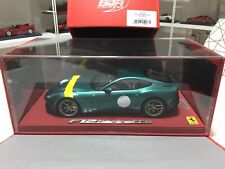 FERRARI F12 Berlinetta Verde Pino BBR 1/18 P1841VP Limited Ed. 32 pcs Sold Out