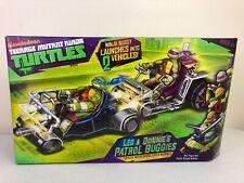 2012 Teenage Mutant Ninja Turtles Leo & Donnie's Patrol Buggies Toys New