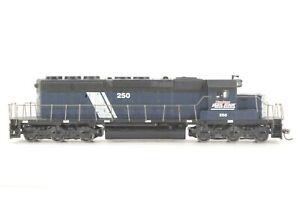 HO Athearn Montana Rail Link SD40 Powered Locomotive AWP / Brass FW, Tested Xlnt