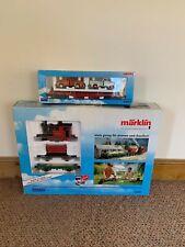More details for marklin gauge 1 'emma' starter train set 54403 gauge & 54943 wagon pack