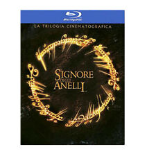 Il Signore degli anelli - La Trilogia (3 Blu-Ray) *Nuovo Sigillato*