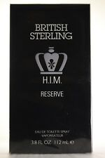 British Sterling Him Reserve by Dana 3.8 oz EDT Cologne for Men New In Box
