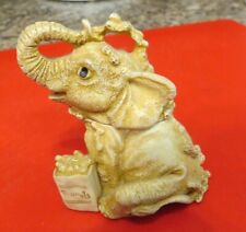 Harmony Kingdom S.I.A.B. Elephant Box Figural made in England