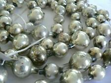 84� Antique Germany Vintage Silver Christmas Ball Garland