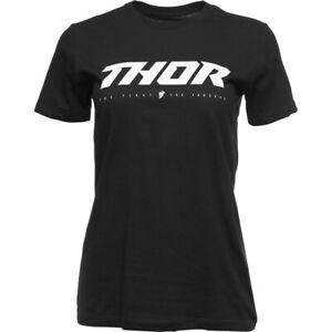 Thor MX Women's Loud 2 T-Shirt (Black) Choose Size