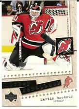 2005-06 Upper Deck Hockey Scrapbook Martin Brodeur #HS30