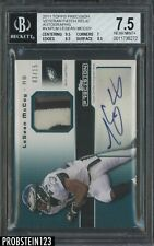 2011 Topps Precision Lesean McCoy RC Rookie RPA Patch AUTO /15 BGS 7.5