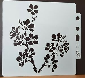 Cherry Blossom Stencil, Flowers Floral, Mask, Mixed Media – BNIP - FREE P & P