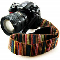 Vintage Camera Shoulder Neck Strap Sling Belt for Canon Sony Nikon SLR DSLR AL
