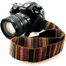Vintage Stripes Camera Shoulder Neck Strap Belt For Universal SLR DSLR Nikon