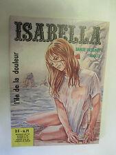 """Isabella la Duchesse du Diable Numéro 71 """"L'île de la douleur"""" /ElviFrance 1975"""