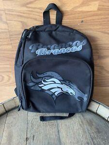 NFL Denver Broncos Black Mini Backpack fan apparel