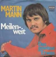 """Martin Mann - Meilenweit (7"""", Single) Vinyl Schallplatte 10554"""