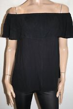 NOW Kmart Brand Black Off Shoulder Blouse Size 10 BNWT #TM51