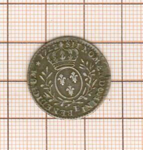 Louis XV 1/10 è d'écu  1728 sur 27    E Tours