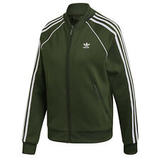 Adidas Originals Superstar Tt Track Top Chaqueta de Entrenamiento Caqui Verde