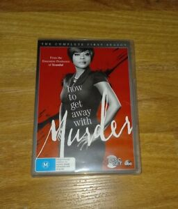 How To Get Away With Murder TV Series DVD Season 1  4-Disc Set R4  Mystery Crime
