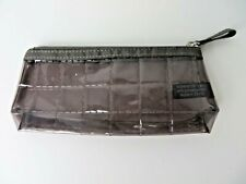 Lancome Small Cosmetic Pouch Transparent PVC Zip Top  #4769