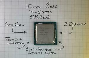 Intel Core i5-6500 3.2GHz (SR2L6) Quad-Core Socket LGA1151 6th Gen Processor
