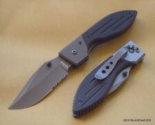 KA-BAR WARTHOG II FOLDING KNIFE 4.5 INCH CLOSED WITH POCKET CLIP G10 HANDLE