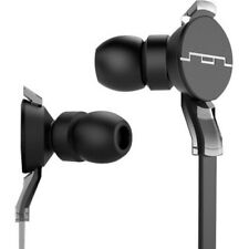 Sol Republic Amps In Ear Black Headphones with Single Button Music Control & Mic