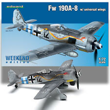 EDUARD 1/72 FOCKE WULF FW 190A-8 W/UNIVERSAL WINGS WEEKEND EDITION KIT 7443