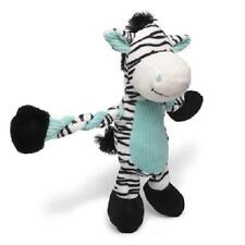 NEW Black and White Zany Zebra Dog Toy Pulleez K9 Tuff by Charming Pet