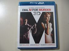 Dial M for Murder (Blu-ray Disc, 2012, 2D & 3D) Brand New and Sealed