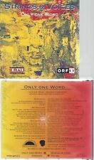 CD--STRINGS & VOICES--ONLY ONE WORLD