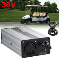 36V Golf Cart Bare Wire Battery Charger 36 Volt Charge For Club Car EZ-GO DS TXT
