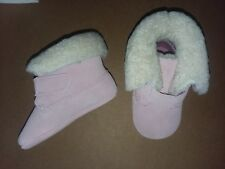 Polo Ralph Lauren Baby Sierra Dusty Rose Pink Bootie Boots Booties Sz. 3 27703