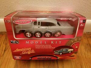 New American Graffiti Motor Max 1955 Chevy Bel Air Die Cast Metal 1:24 Model Kit