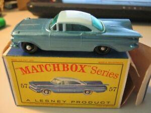 Matchbox Lesney No. 57 Chevrolet Impala