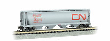BACHMANN 1/160 N CANADIAN NATIONAL CYLINDRICAL GRAIN HOPPER # 382005 F/S # 19163