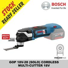 BOSCH GOP 18V-28 (SOLO) CORDLESS MULTI-CUTTER MULTICUTTER (no battery & charger)