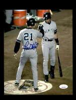 Paul O`Neill JSA Cert Hand Signed 8x10 Yankees Photo Autograph