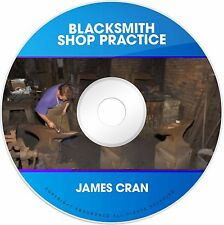 Blacksmith Blacksmithing Shop Practice Guide Plan Tool Weld Forge Forging PDF CD