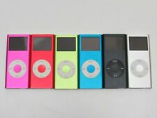 Lot 6 Apple iPod Nano 2nd gen A1199 All Colors Red Pink Blue Green Silver Black