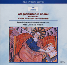PATER GODEHARD JOPPICH-GREGORIAN CHANT - DEDICATION OF A...-JAPAN CD Ltd/Ed D50