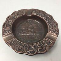 Vtg Washington DC Ashtray Cast Bronze White House Souvenir Made In USA