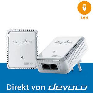 devolo dLAN 500 duo Powerline 500 Mbps 2x LAN-Anschluss 2x Adapter