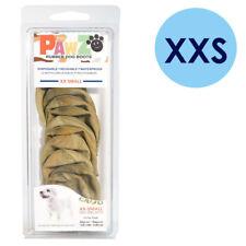 PAWZ Rubber Dog Boots XXS Camo 12 Per Pack Disposable Reusable Waterproof Shoes
