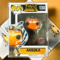 "Funko Pop Star Wars Rebels : AHSOKA #130 Vinyl Figure ""MINT"" Exclusive"