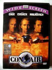 Dvd Con Air ed. widescreen con Nicolas Cage 1997 Usato raro fuori cat.