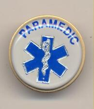 Paramedic EMS Lapel Pin Hat Pin Metal Medical Emblem New