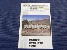 wielerkaart 1992 team rmo gitane  virenque