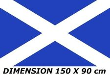 DRAPEAU 150 X 90 cm ECOSSE ECOSSAIS SCOTTISH FLAG No écharpe maillot fanion ...
