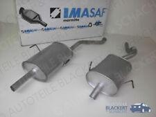 IMASAF Auspuffanlage MSD + ESD für Renault Espace 2.0 16V 1998-2002 | kurz