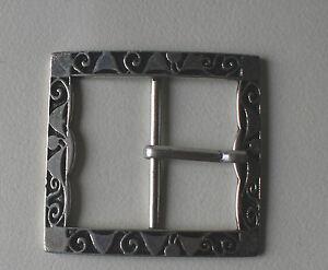 Gürtelschnalle Nickelfrei . -Silber,einfache,schließe ,  NEU 4-5 cm.-5 cm. breit