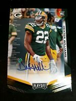 DEXTER WILLIAMS 2019 Panini Playoff Football RC ROOKIE AUTO #246 PACKERS